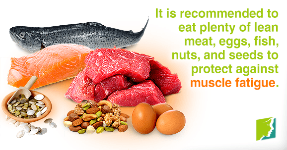 Protein can protect against muscle fatigue