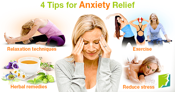 4 Tips for Anxiety Relief