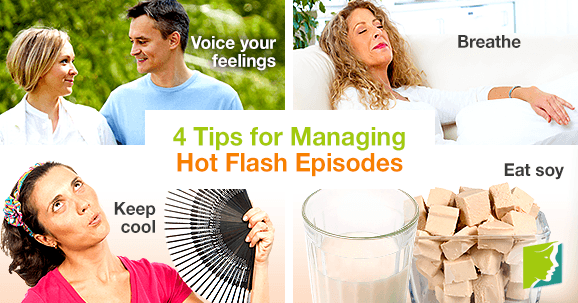 4 Tips for Managing Hot Flash Episodes