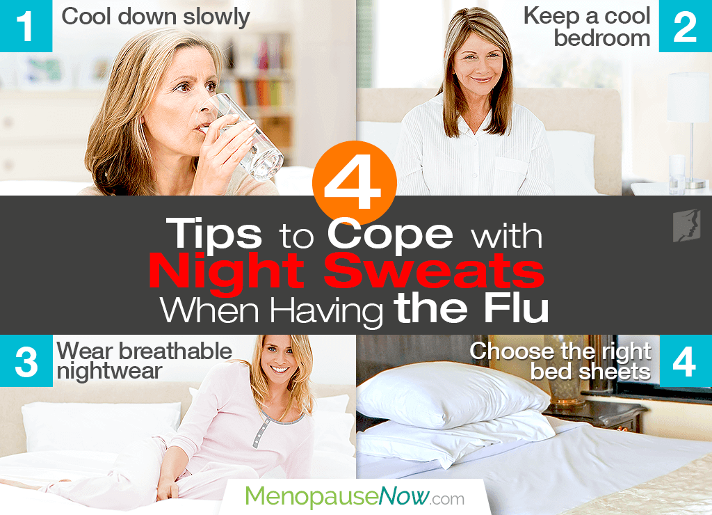 Top 4 Tips to Cope with Night Sweats When Having the Flu
