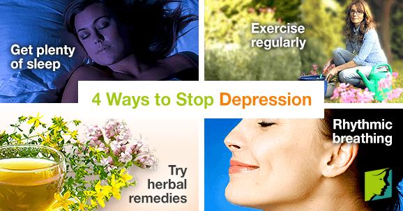 Ways to stop depression