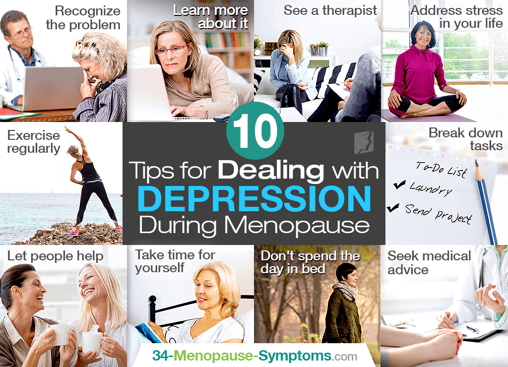 10 Top Tips for Dealing with Depression during Menopause