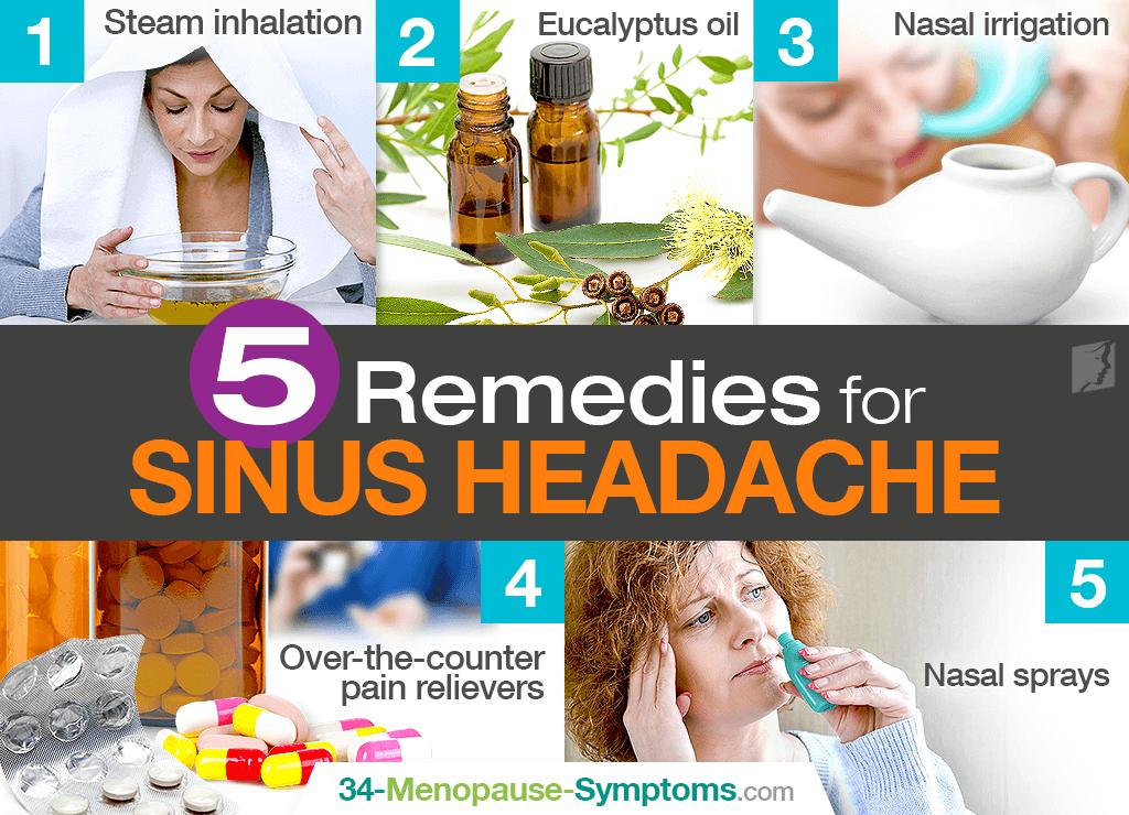 Sinus headache remedies