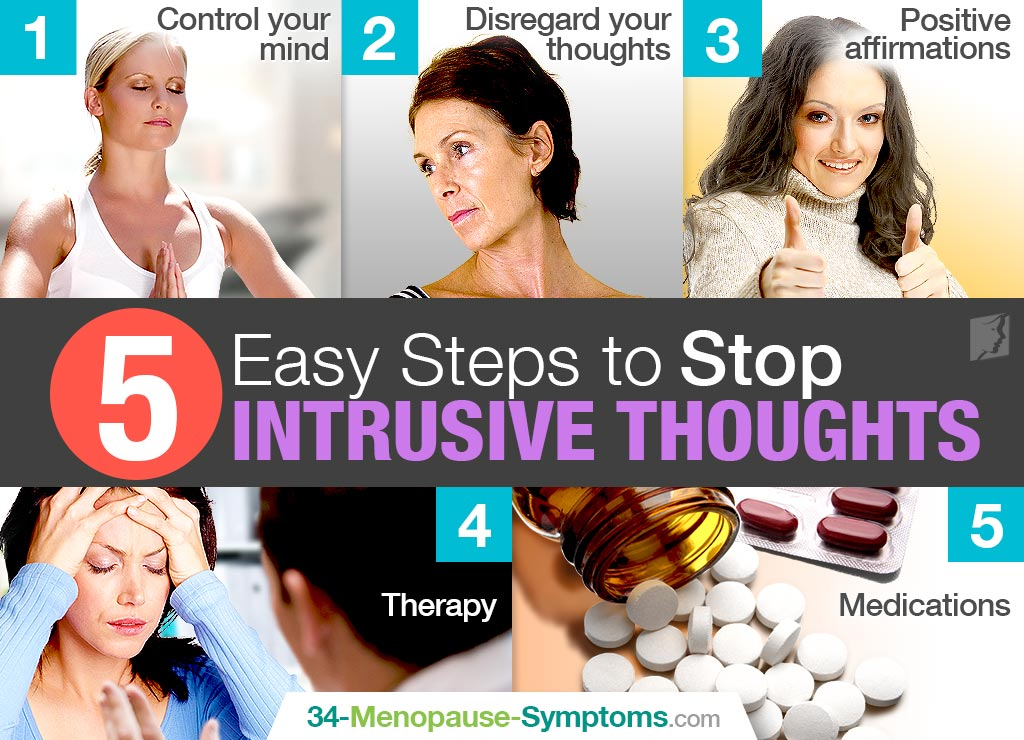 5 Easy Steps to Stop Intrusive Thoughts
