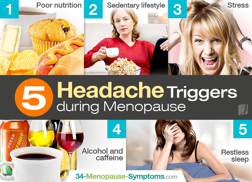Headache triggers during menopause