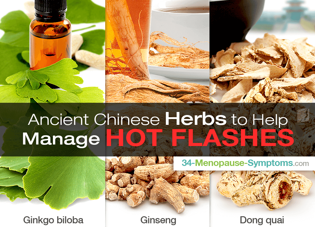 Ancient Chinese Herbs to Help Manage Your Hot Flashes