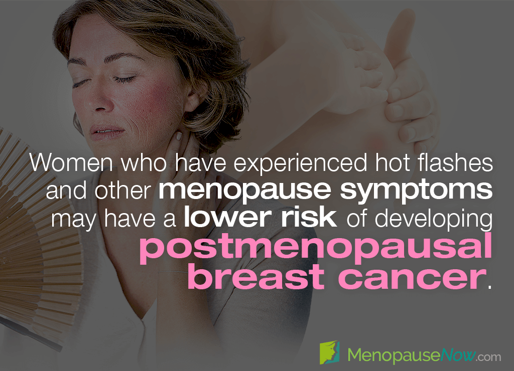 breast cancer menopause symptoms