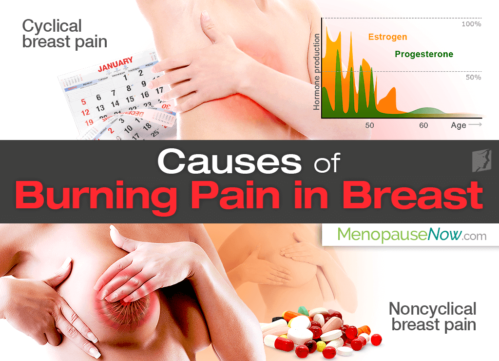 causes and solutions of burning pain in breast