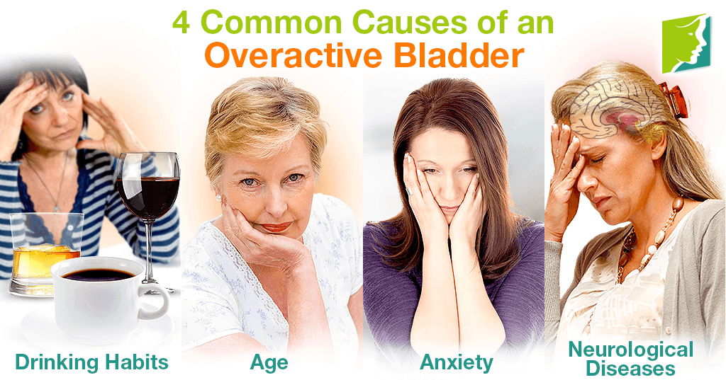 4 Common Causes of an Overactive Bladder