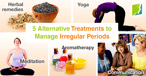 5 Alternative Treatments to Manage Irregular Periods