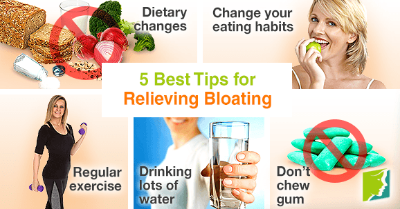 5 best tips for relieving bloating