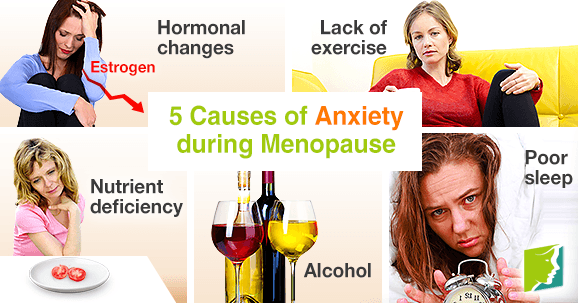 5 Causes of Anxiety during Menopause