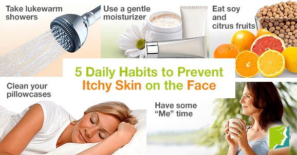 5 Daily Habits to Prevent Itchy Skin on the Face