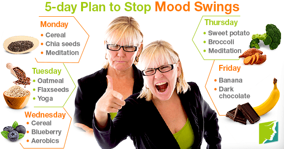 5-day Plan to Stop Mood Swings