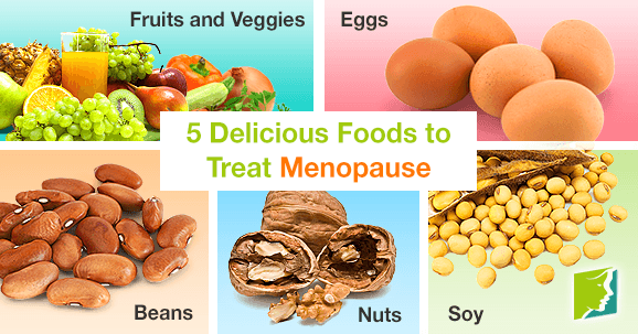 5 Delicious Foods to Treat Menopause