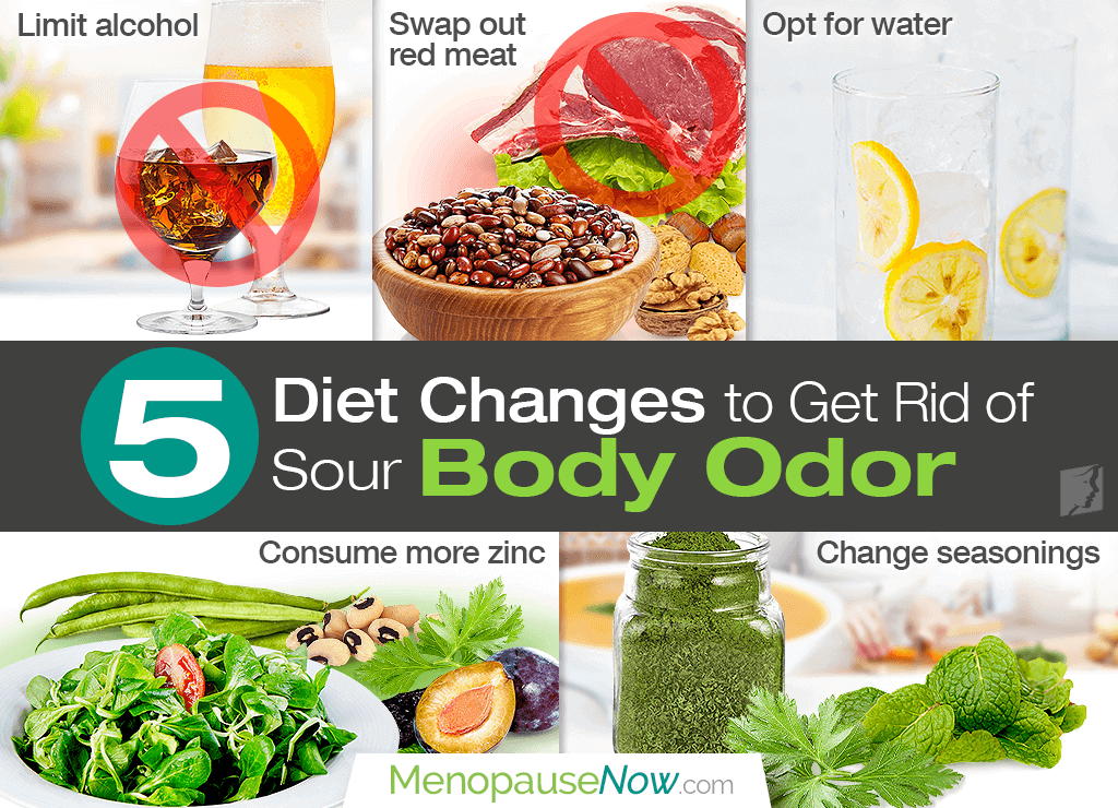 5 diet changes to get rid of sour body odor