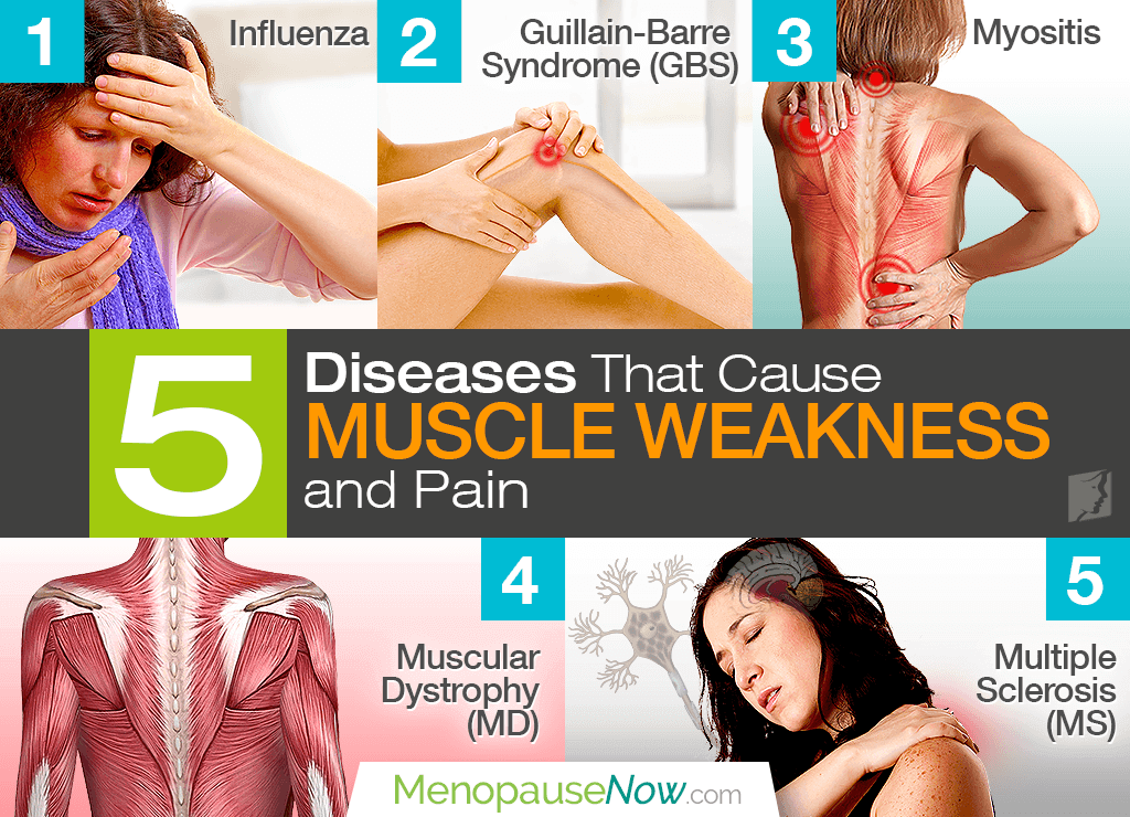 Diseases That Cause Muscle Pain and Weakness