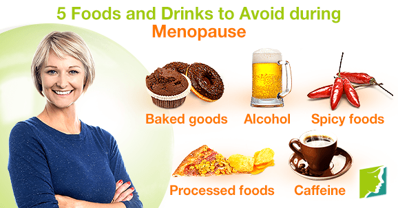 5 Foods and Drinks to Avoid during Menopause