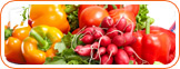 Fruits and vegetables can assist in eliminating hot flashes.