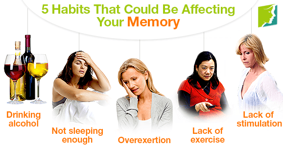 5 Habits That Could Be Affecting Your Memory