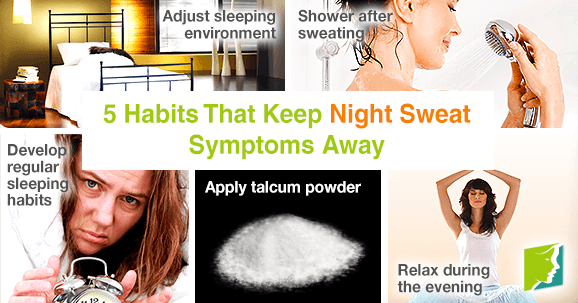 5 Habits That Keep Night Sweat Symptoms Away