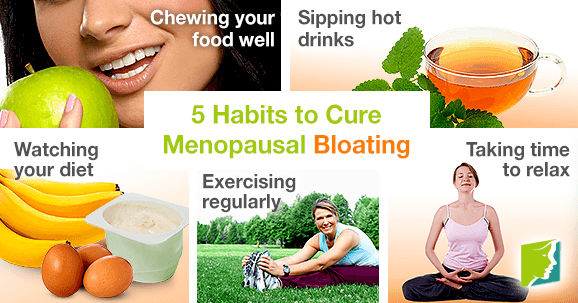 5 Habits to Cure Menopausal Bloating