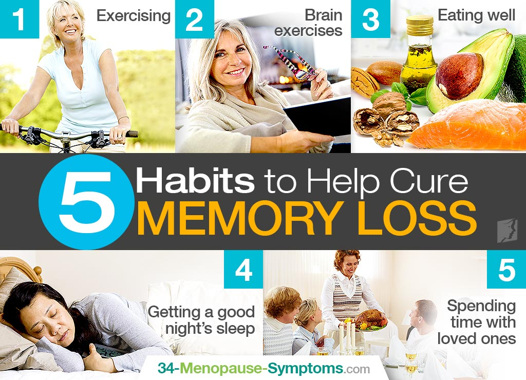 5 Habits to Help Cure Memory Loss