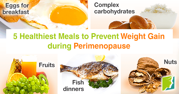 5 healthiest meals to prevent weight gain during perimenopause