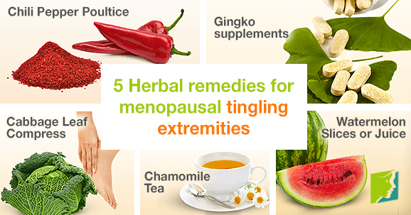 5 Herbal Remedies for Menopausal Tingling Extremities