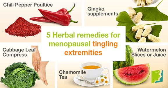 5 Herbal Remedies for Menopausal Tingling Extremities