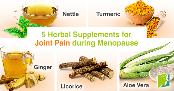 5 Herbal Supplements for Joint Pain during Menopause