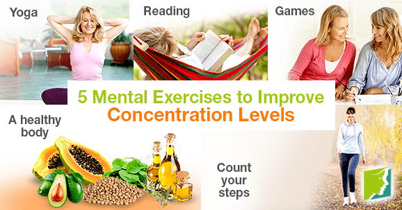 5 Mental Exercises to Improve Concentration Levels