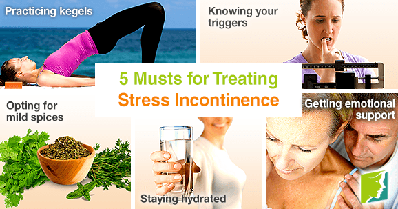 5 Musts for Treating Stress Incontinence