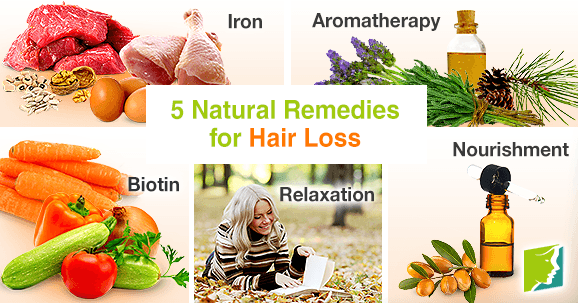 5 Natural Remedies for Hair Loss