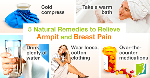5 Natural Remedies to Relieve Armpit and Breast Pain