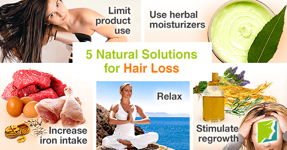 5 Natural Solutions for Hair Loss