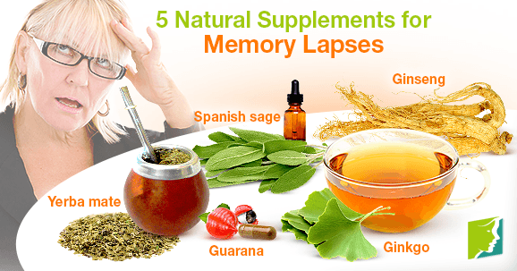 5 Natural Supplements for Memory Lapses