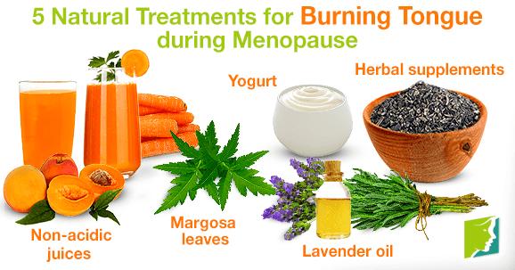5 Natural Treatments for Burning Tongue during Menopause