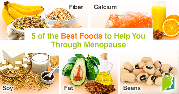 Best foods to help you through menopause