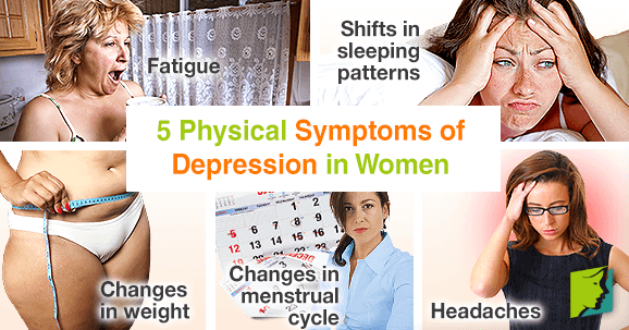 5 Physical Symptoms of Depression in Women