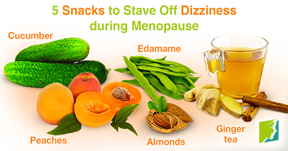5 Snacks to Stave Off Dizziness during Menopause