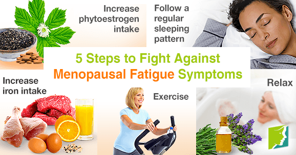 5 Steps to Fight Against Menopausal Fatigue Symptoms
