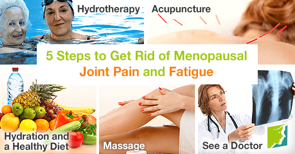 5 Steps to Get Rid of Menopausal Joint Pain and Fatigue