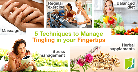 5 Techniques to Manage Tingling in your Fingertips