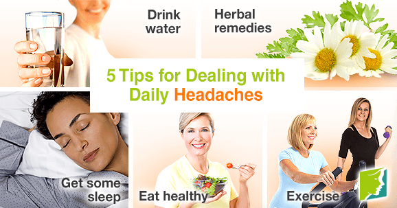 5 Tips for Dealing with Daily Headaches