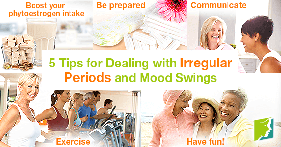 5 Tips for Dealing with Irregular Periods and Mood Swings