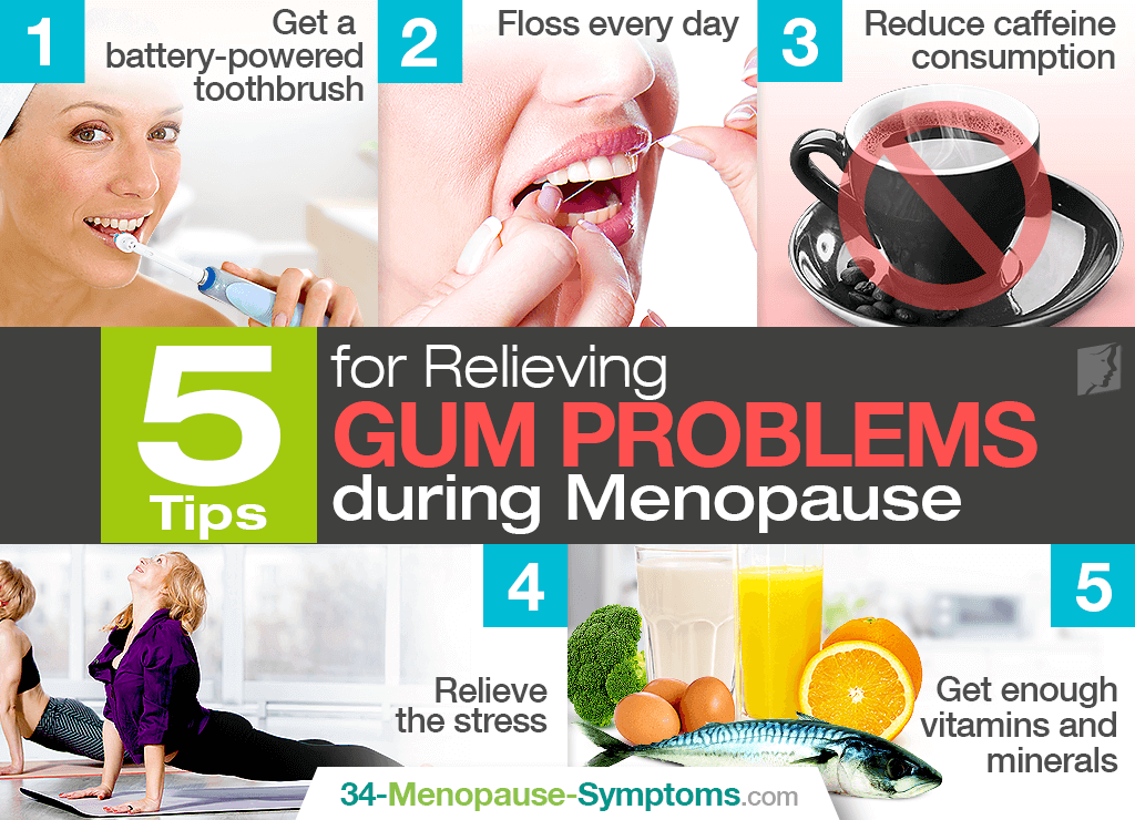 5 Tips for Relieving Gum Problems during Menopause