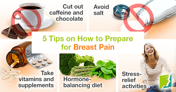 5 Tips on How to Prepare for Breast Pain