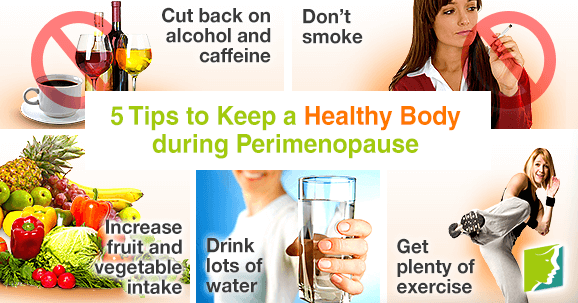 5 Tips to Keep a Healthy Body during Perimenopause