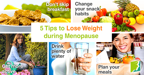 5 Tips to Lose Weight during Menopause